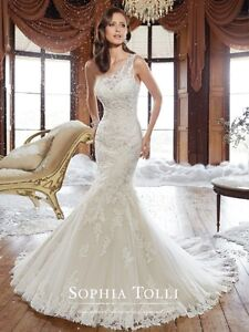 Wedding Dress - Sophia Tolli Mermaid dress, rory y21501