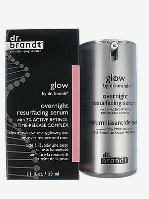 Glow by dr brandt overnight resurfacing serum with Active Retinol Complex 1.7 oz
