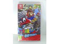 Nintendo Switch Super Mario Odyssey (Brand New Sealed)