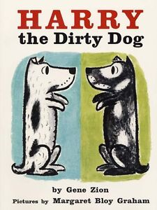 "NEW ""Harry the Dirty Dog"" Paperback book"