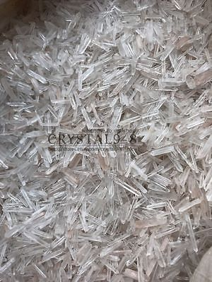 450 650Pcs Lot Natural Clear Quartz Crystal Points 1 2Lb Terminated Wand Healing