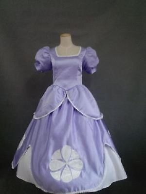 The First Halloween Costumes (The First Princess Sophia Sofia Purple Dress Cosplay Costume Adult For)