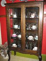Vaisselier antique - Antique China Cabinet