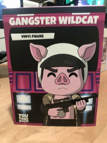 Gangster Wildcat Youtooz [SOLD OUT] (LIMITED EDITION COLLECTABLE)