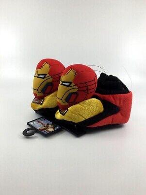 Iron Man Toddler Socktop Slippers NWT - Iron Man Toddler