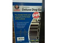 Deluxe dog guard
