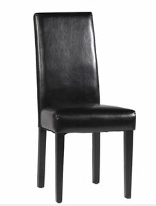 Parsons Side Chair Leather