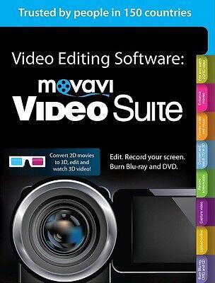 Deal : Movavi Video Suite 18  Convert Videos , Edit MPEG AVI WMV DVD Burn (Convert Video Avi Mpeg)