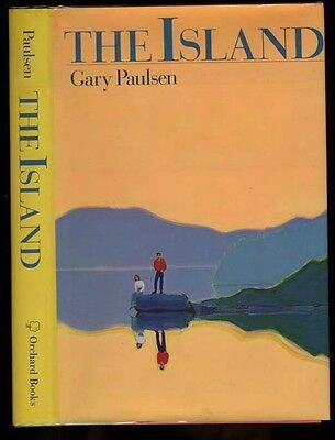 Paulsen, Gary: The Island HB/DJ 1st/1st (1988) (Paulsen Island)