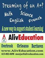 Math,Sciences,English Tutoring (Home/Online)by Certified Teacher