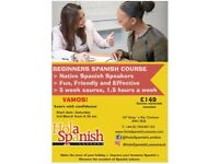 Spanish Course for begginers in Chelesea