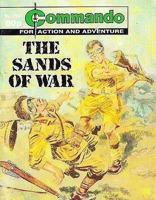 Commando For Action & Adventure Comic Book Magazine #3591 SANDS OF WAR