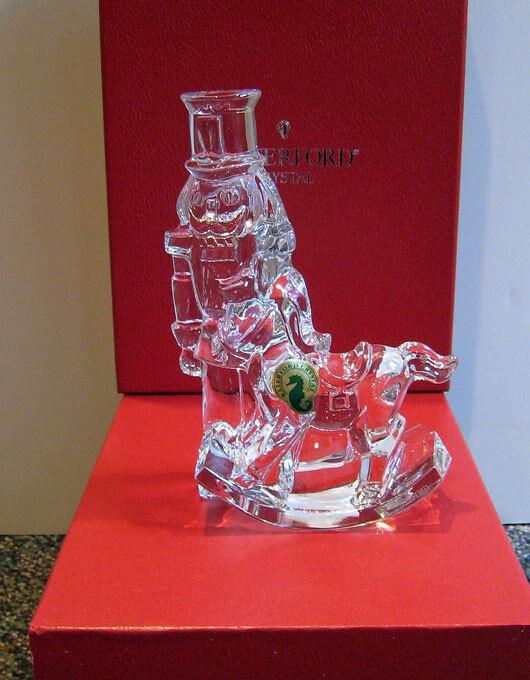 Waterford Crystal NUTCRACKER SCULPTURE  Ireland NEW / BOX