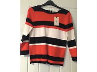 Women's Oasis Jumper Size XS but fits up to small 10. Brand New with Tags!