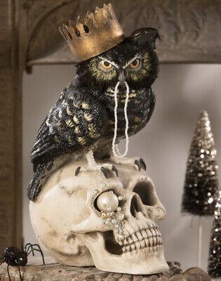 Bethany Lowe Halloween SIR WINGSTON OWL TD9048 New 2020