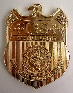 NCIS Special Agent Badge - TV Series Metal Prop