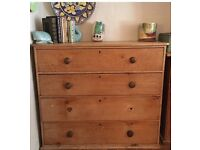 ONLY £150 !!! Large Vintage Pine Chest of Drawers