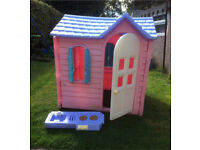 LITTLE TIKES PINK COUNTRY COTTAGE PLAYHOUSE RRP NEW £299.99