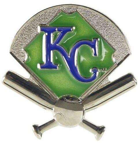 Kansas City Royals Mlb Baseball Field & Bats Sports Pin Licensed By Aminco