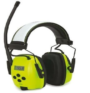 Howard-Leight-Digital-Earmuff-Hearing-Protector-AM-FM-Radio-Headphone-Ear-Muffs