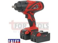 SEALEY TOOLS CP3005 CORDLESS IMPACT WRENCH 650NM TORQUE 18V DRIVE HAS A SUPER HIGH TORQUE