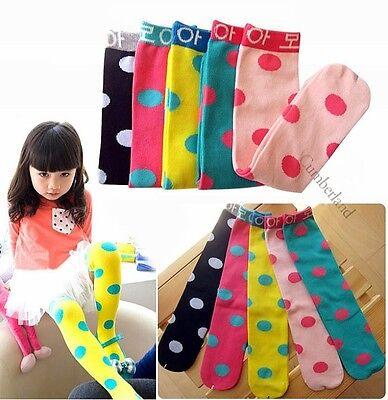 5 Colors Appealing Dot High Socks