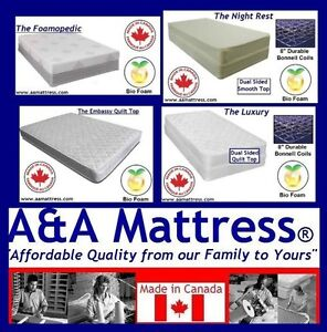 NEW Double Mattress - NO TAX RENOVATION SALE! SEE AD FOR DETAILS
