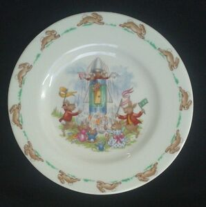 ROYAL DOULTON - BUNNYKINS. BREAD & BUTTER PLATE (extremely collectable)