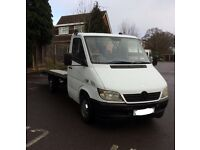 Mercedes sprinter recovery truck 52 plate