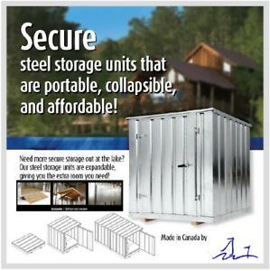 AFFORDABLE STORAGE UNIT FOR YOUR HOME OR COTTAGE. WE CAN DELIVER
