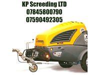 Floor screeding - KP SCREEDING LTD