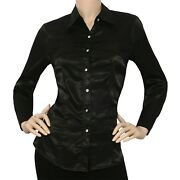 Womens Satin Blouse