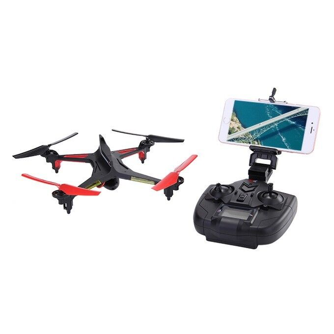 XK Alien x250 quadcopter with 4 extra batteries and charger