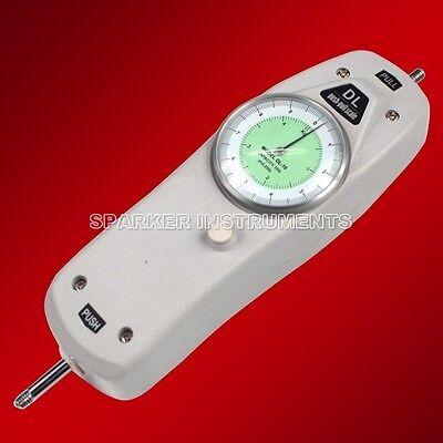 Dl 110ibs Dial Mechanical Push Pull Gauge Analog Force Gauge Meter Tester