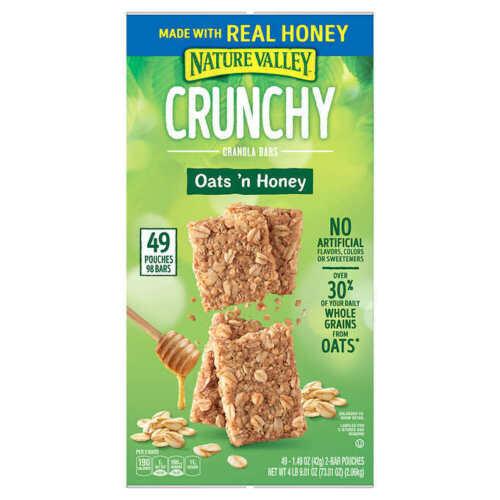 🔥 Nature Valley Crunchy Granola Bar, Oats