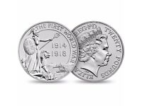 £20 Silver Coin Outbreak Royal Mint