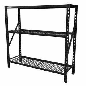SPG International Industrial Shelving with Wire Mesh Shelves