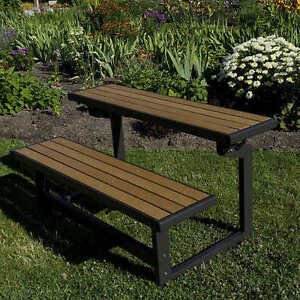 Lifetime Convertible Bench, Faux Wood *BRAND NEW*