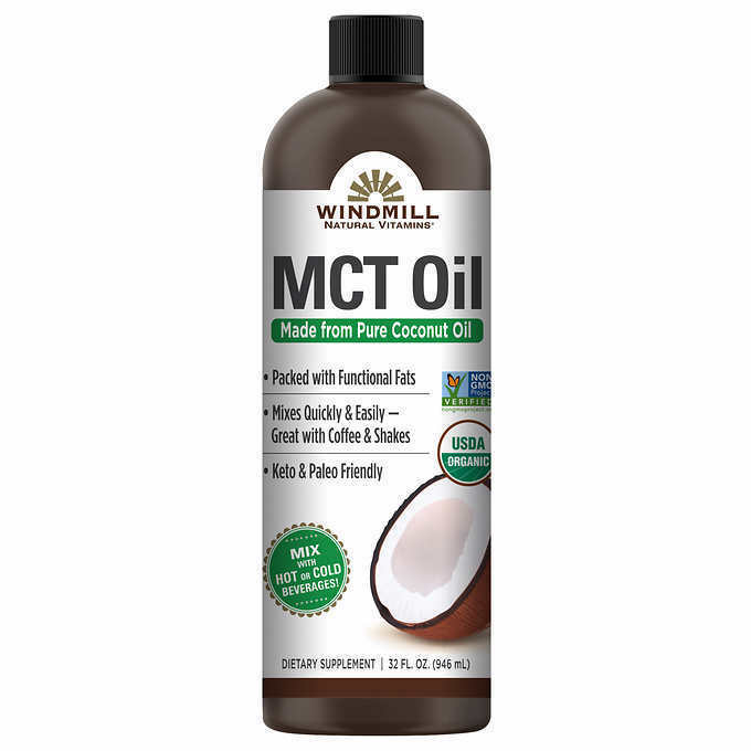 Windmill USDA Organic MCT Oil, 32 Ounces * FAST SHIPPING *