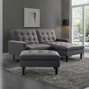 Overstock Liquidation! 3pc Corban Modular Sectional Sofa SAVE $$