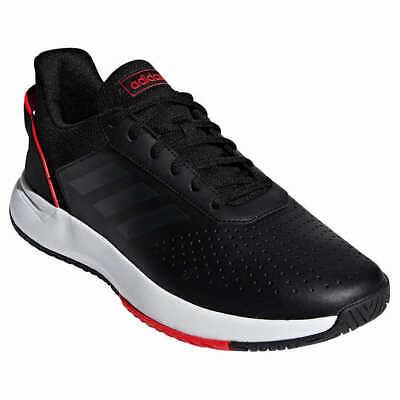 ADIDAS Men's Courtsmash Sneakers Tennis Shoe Black (Adidas Tennis Sneakers)