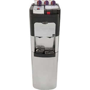Estratto Bottom Loading Stainless Water Cooler with Coffee Maker