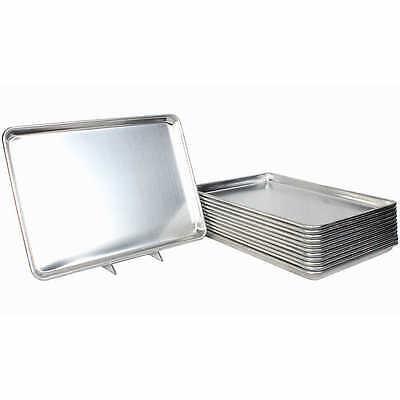 "Restaurant Essentials Set of 12 Full Size Sheet Baking Pans 18"" x 26"" NO TAXS"