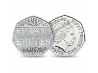 Rare Collectible 50p Coin - 100th Anniversary of the Birth of Benjamin Britten (2013)