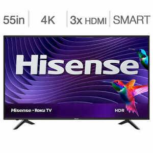 Hisense 55R6107 55 pouces ; 4K Roku Smart LED TV