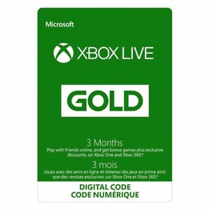 3 Month Xbox Live Codes