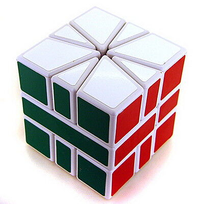The Best Speed Super Square One SQ-1 Magic Cube Twist Puzzle White By Cube