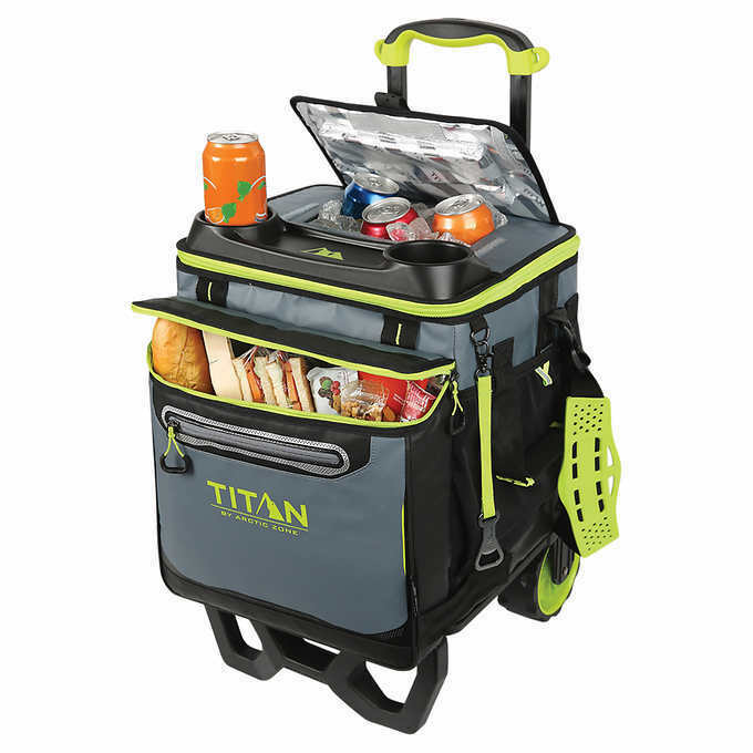 deep freeze 60 rolling cooler camping hiking