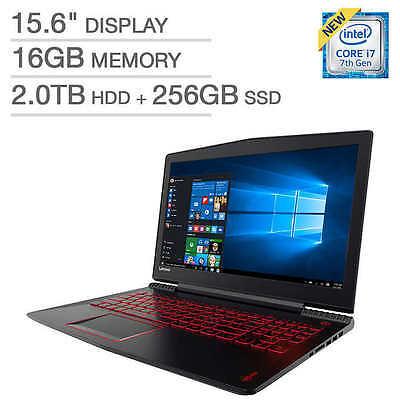 "Lenovo Legion Y520 15.6"" Laptop: Core i7-7700HQ, 16GB RAM, NVidia 1050Ti 4GB"