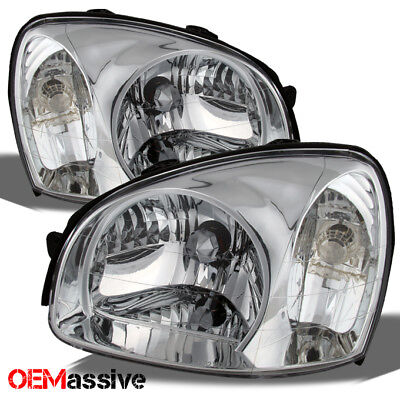 Fits 2003-2006 Santa Fe Replacement Headlights lamps Left+Right 03 04 05 06 sets